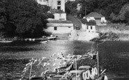 Bodinnick, People And Cars On The Ferry c.1960
