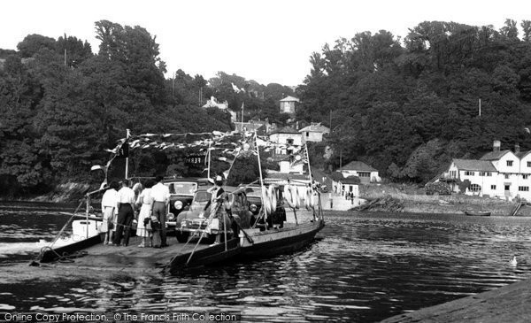 Bodinnick, The Ferry c.1955