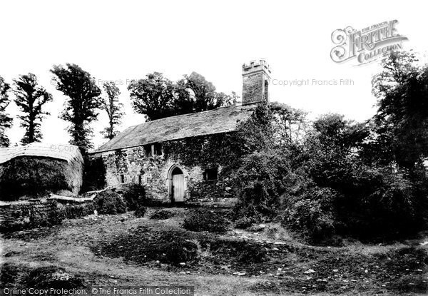 Bodinnick, The Old Chapel 1893