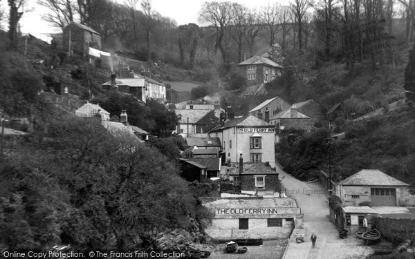 Bodinnick, The Old Ferry Inn 1933