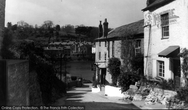 Bodinnick, The Village c.1950