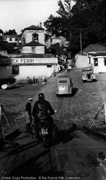 Bodinnick, Village c.1955
