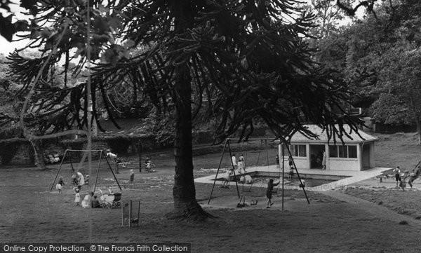 Bodmin, Children's Corner, Priory Grounds c.1955