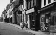 Bodmin, Fore Street, Shoppers c.1955