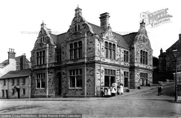 Bodmin, Free Library 1906