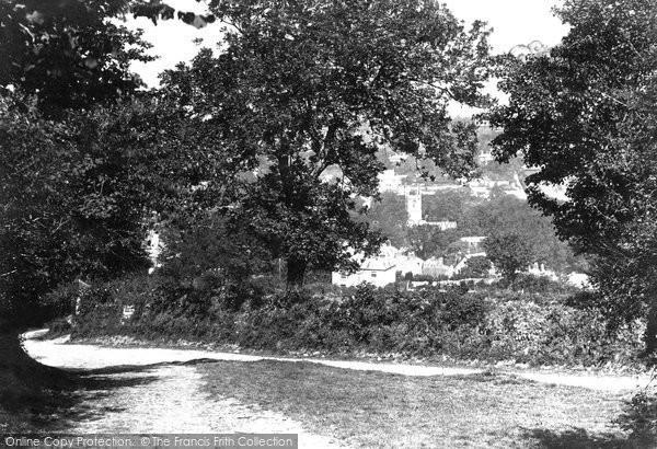 Bodmin, From Beacon Lane 1894