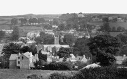 Bodmin, From The Beacon 1931