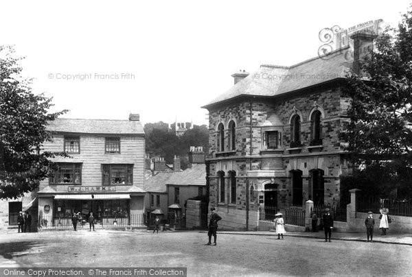 Bodmin, Mount Folly Square 1906