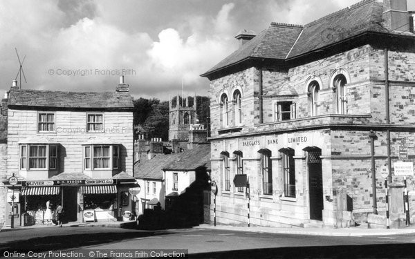 Bodmin, Mount Folly Square c.1960
