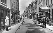 Bodmin, Old Man In Fore Street 1920
