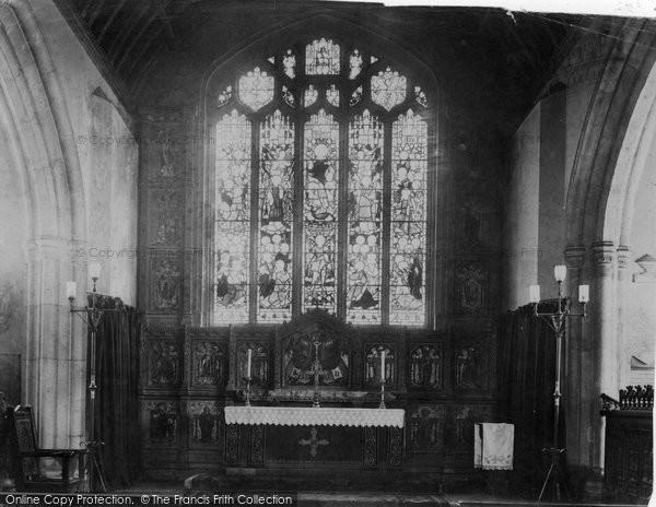 Bodmin, Parish Church 1906