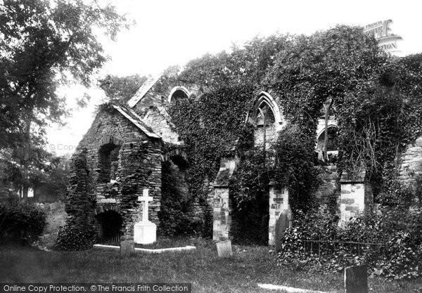 Bodmin, Ruins In The Churchyard 1890