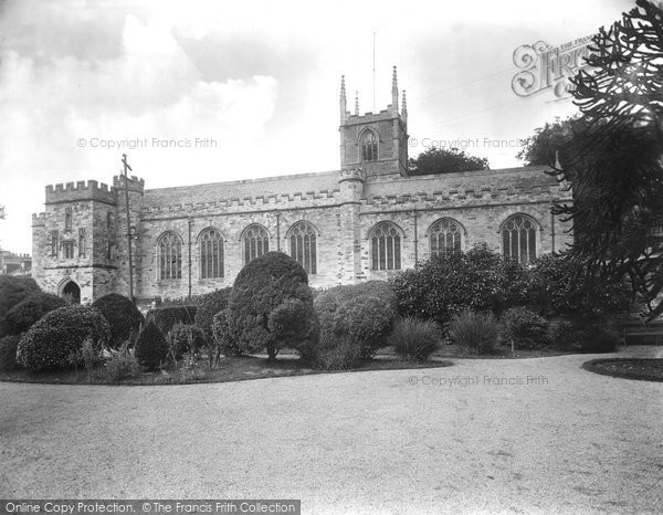 Bodmin, St Petroc's Church 1931