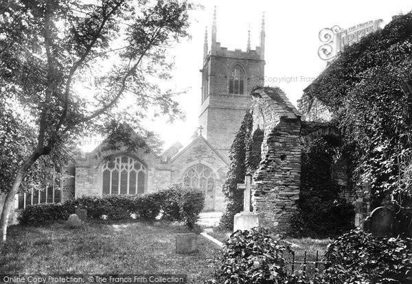 Bodmin, St Petroc's Church And Chapel 1894