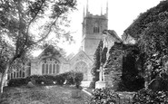 Bodmin, St Petroc's Church And Chapel 1894