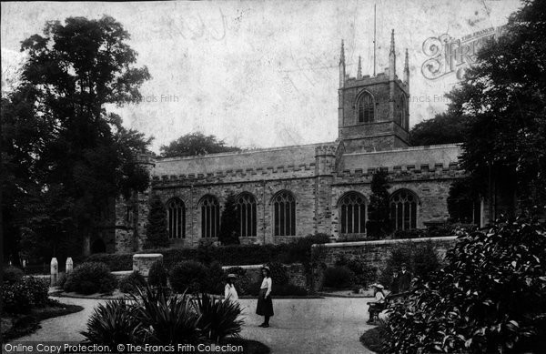 Bodmin, St Petroc's Church And Gardens 1906
