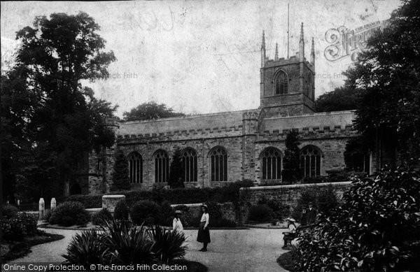 Bodmin, St Petroc's Church And Robartes Gardens 1906