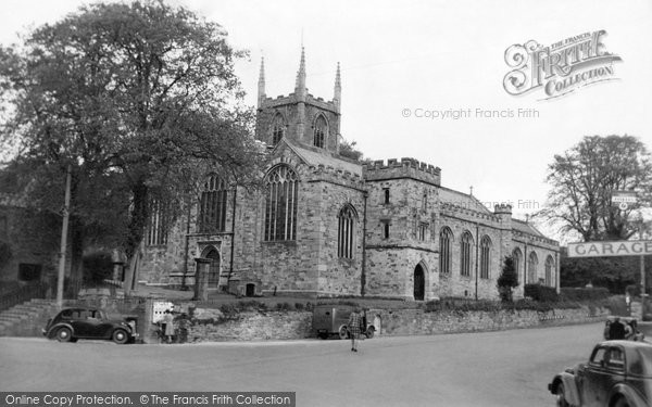 Bodmin, St Petroc's Church c.1955