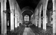 Bodmin, St Petrock's Church Interior 1920