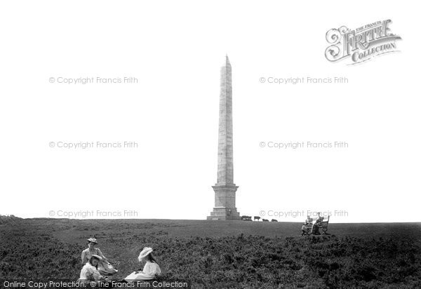 Bodmin, The Beacon Hill Obelisk 1894
