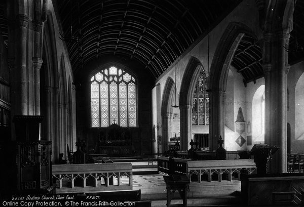 Bodmin, The Church Interior 1890