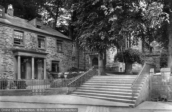 Bodmin, The Church Steps 1920