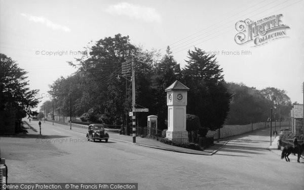 Bodmin, Town End Clock 1938