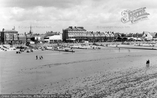 Bognor Regis, Beach And Promenade c.1955