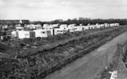 Bognor Regis, Boulevard Estate From The Bridge c.1955