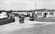 Bognor Regis, Boulevard Estate Main Entrance c.1955
