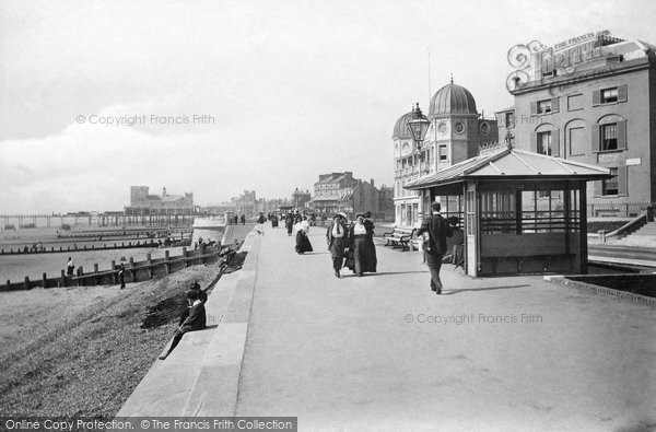 Bognor Regis, East Parade And The Kursaal 1911
