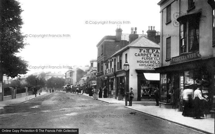 Bognor Regis, High Street 1895
