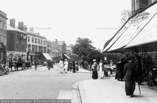 Bognor Regis, High Street 1914