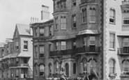 Bognor Regis, Horse And Carriage, Park Terrace 1890