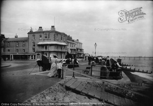 Bognor Regis, Lansdowne Boarding House 1903