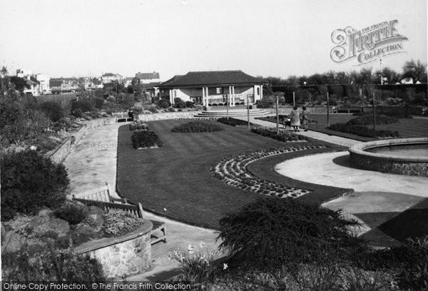 Bognor Regis, Marine Gardens c.1950