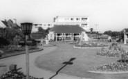 Bognor Regis, Marine Parade Gardens c.1960