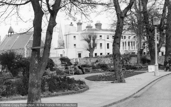Bognor Regis, Merchant Taylors Home And Gardens c.1955