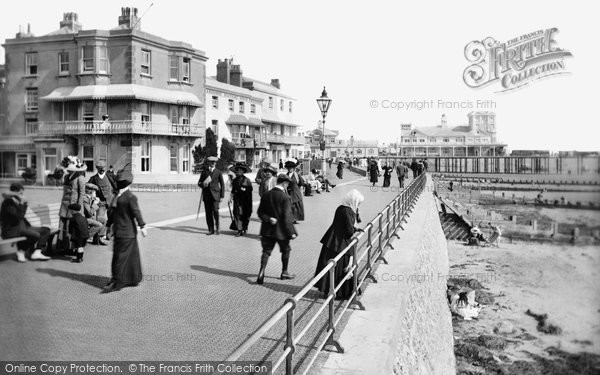 Bognor Regis, Parade And Pier 1911