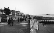 Bognor Regis, Promenade And Beach c.1950