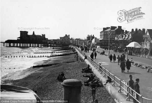 Bognor Regis, Promenade c.1950