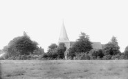 Bognor Regis, South Bersted Church And Vicarage 1898
