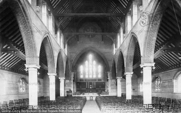 Bognor Regis, St John's Church Interior 1898