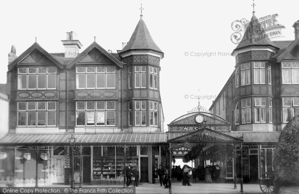 Bognor Regis, The Arcade 1903