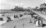 Bognor Regis, The Beach c.1955