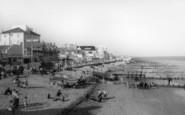 Bognor Regis, The Beach c.1960