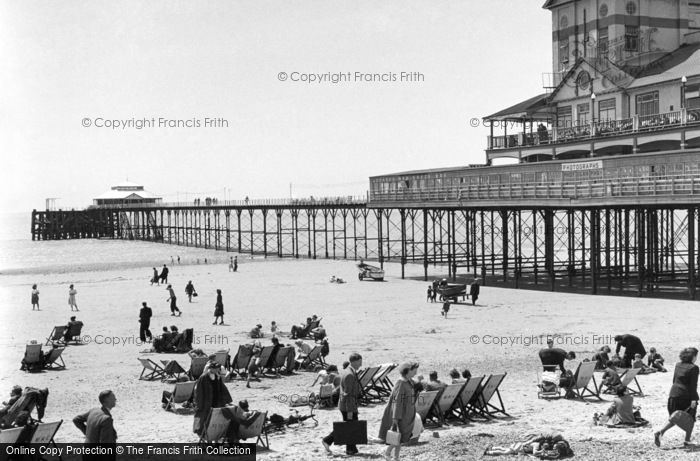 Bognor Regis, The Pier 1955