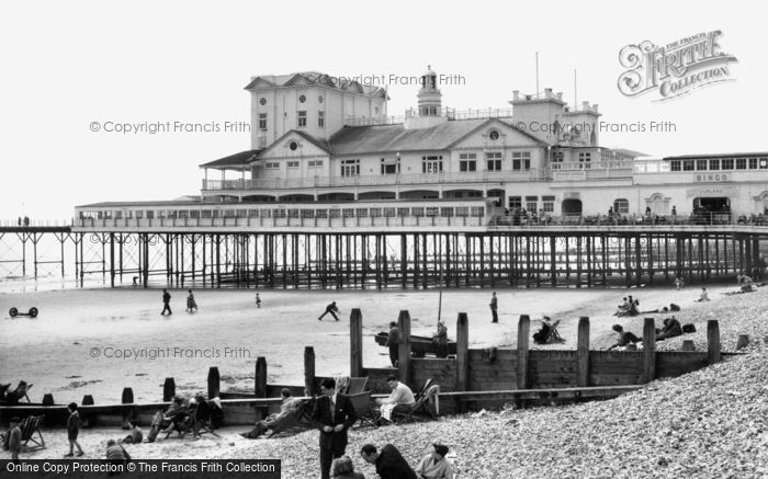 Bognor Regis, The Pier c.1960