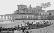Bognor Regis, the Pier c1960