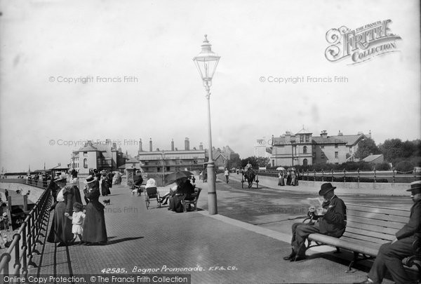 Bognor Regis, The Promenade 1898